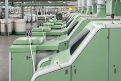 Fabryczna bawełniana przędzalniana maszyna Zdjęcie Royalty Free