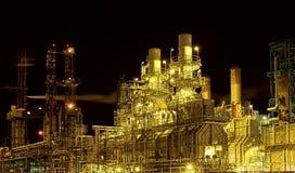 fabryczna noc Obraz Stock