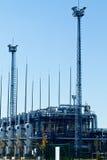 fabryczna rafineria Obraz Stock