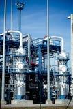 fabryczna rafineria Fotografia Stock