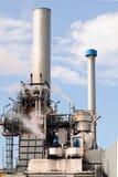 fabryczna rafineria ropy naftowej Obrazy Royalty Free