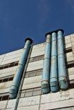 fabryczne drymby Zdjęcie Stock