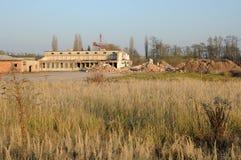 fabryczne ruiny Obraz Royalty Free