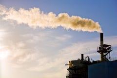 fabrycznej rośliny władzy dymienie obrazy royalty free