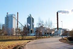fabryczni grzejni szwedzi Obrazy Stock