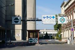 Fabryczny Amoeneburg Wiesbaden Obrazy Stock