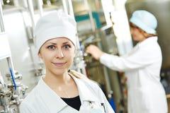 fabryczny farmaceutyczny pracownik Zdjęcia Stock