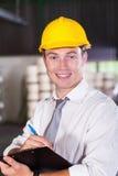 Fabryczny kierownik Obraz Stock