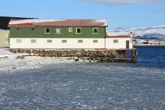 fabryczny lodowaty morze Obraz Royalty Free