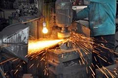 fabryczny polerowniczy warsztat Zdjęcie Stock
