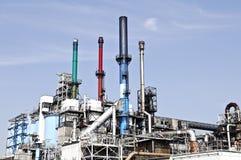fabryczny przerób ropy naftowej Obrazy Stock
