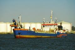 fabryczny przewoźnika statek Spain fotografia royalty free
