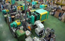 fabryczny wtryskowy wielki target1958_1_ maszyn zdjęcia royalty free
