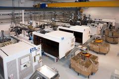 fabryczny wtryskowy wielki target1958_1_ maszyn zdjęcie royalty free