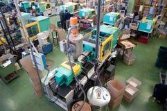 fabryczny wtryskowy wielki target2566_1_ maszyn obraz stock