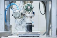 Fabryczny wyposażenie przy pracą zdjęcie stock