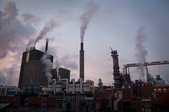 fabryczny zanieczyszczenie Zdjęcie Royalty Free
