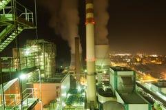 Fabryczny zanieczyszczenie obrazy stock