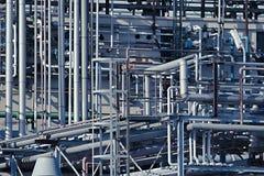 Fabryk chemikaliów drymby zdjęcie royalty free