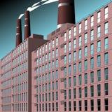 fabryka ilustracja wektor