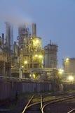 fabryka chemiczny olej Obraz Royalty Free