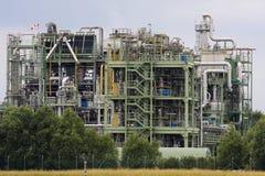 fabryka chemikaliów Fotografia Royalty Free