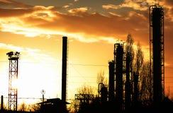 fabryka chemikaliów Zdjęcia Royalty Free