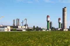 fabryka chemikaliów Fotografia Stock