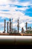 fabryka chemikaliów Obrazy Royalty Free