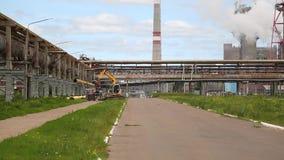 Fabryka chemikaliów pracy w lecie zbiory wideo