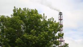 Fabryka chemikaliów pracy w lecie zdjęcie wideo