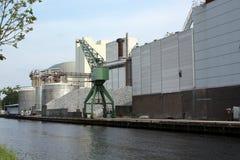 fabryka cukier Zdjęcia Stock