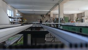 Fabryka dla aluminium, PVC okno i drzwi produkci Dziurkowata metalu talerza meble śruba i dokrętki pracownicy zbiory