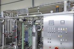 Fabryka dla butelkować napoje w puszkach Fotografia Stock