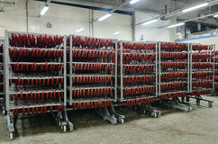 Fabryka dla produkci jedzenie od naturalnych składników Masarka sklep Zarzynać wołowinę Fotografia Stock