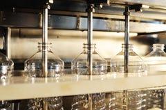 Fabryka dla produkci słonecznikowy olej Obrazy Stock