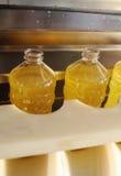 Fabryka dla produkci słonecznikowy olej Zdjęcie Stock