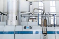 Fabryka dla produkci zwierzę domowe klingerytu granule roślina zwierzę domowe zdjęcia stock