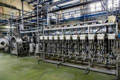 Fabryka dla produkcji krochmal od grul Wnętrze przedsięwzięcie chemiczna produkcja obraz royalty free