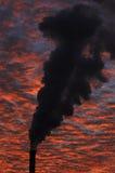 fabryka dymu Zdjęcie Royalty Free