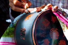 Fabryka laka, Myanmar fotografia stock