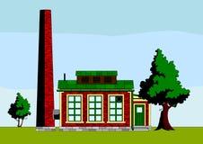 fabryka mała Ilustracja Wektor