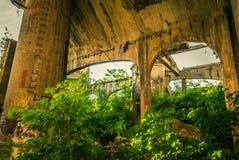Fabryka ruiny Zdjęcie Royalty Free