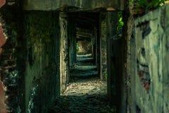Fabryka ruiny Zdjęcia Stock