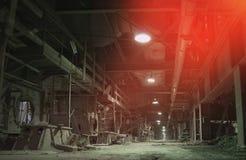 fabryka stary opuszczony zdjęcie stock
