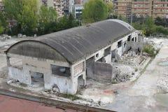 fabryka stary opuszczony Zdjęcie Royalty Free