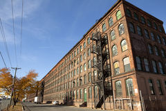 Fabryka w bydle Fotografia Royalty Free