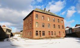 Fabryka w LUKSEMBURG Obraz Royalty Free