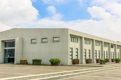 Fabryka w niebie Zdjęcie Royalty Free