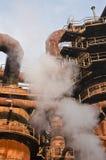 Fabryka z dymem. Zdjęcie Royalty Free